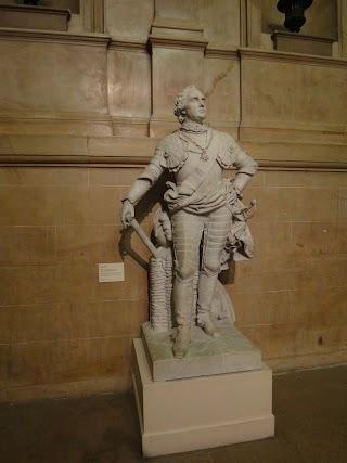 Maurice, Comte de Saxe par François Rude au Musée des Beaux-Arts à Dijon