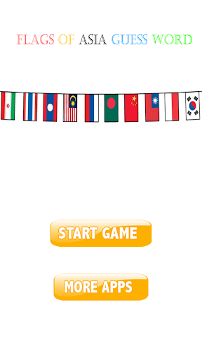 Flags of asia guess word