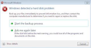 Windows Hardisk Problem