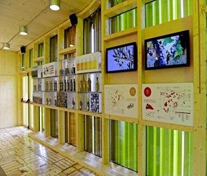 arquitectura interior Pabellón Español Floriade 2012