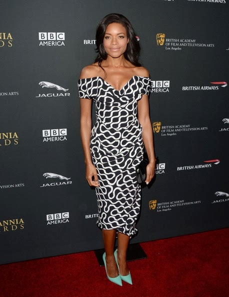 Naomie Harris attends the 2013 BAFTA LA Jaguar Britannia Awards