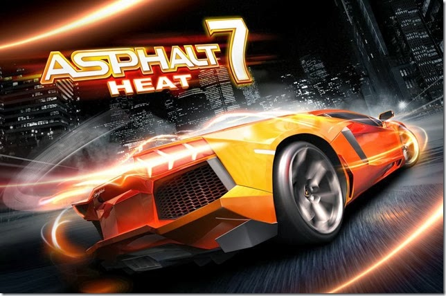 Asphalt 7 Heat unlimited money full APK free download for Android