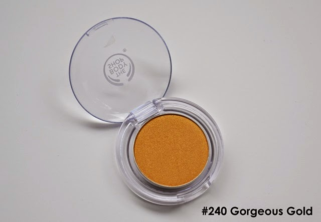 The Body Shop Color Crush Eye Shadow Gorgeous Gold