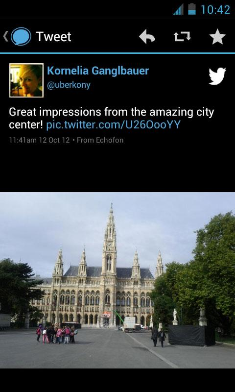 Echofon PRO for Twitter - screenshot