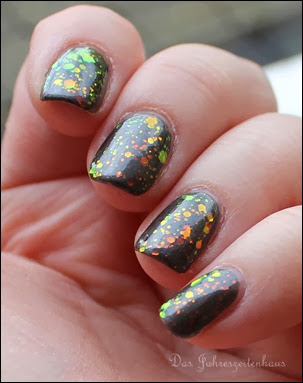 BUNT Kleancolor Chunky Holo Black 6