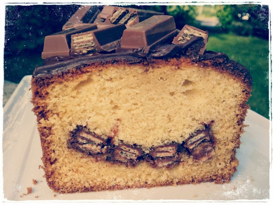 kitkat torte 2 böden