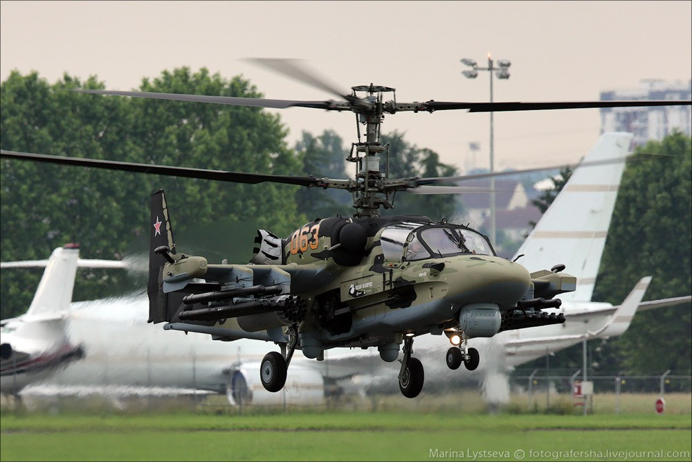 Elicottero Ka 52 : Particolarmente urgentissimo kamov ka alligator