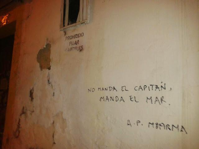 acción, poética, miarma, sevilla, frase, paredes, pintadas, graffiti, poesia, calle