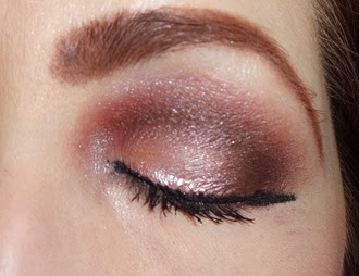 look with Khloe Kardazzle Face Palette_eye closed