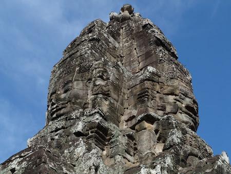 Obiective turistice Angkor: Jayavarman VII la Bayon