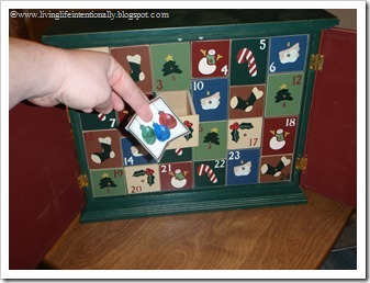 Advent Calendar drawers