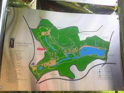 KL Botanical Garden - unwinding
