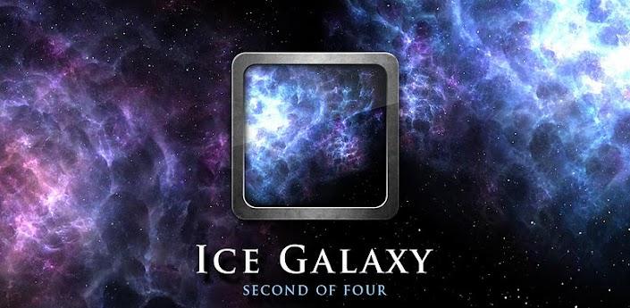 Скачать Ice Galaxy Live Wallpaper - космические живые обои