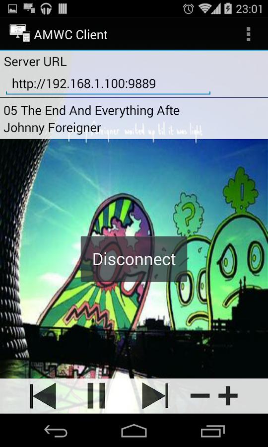 Music Web Remote Control Free - screenshot