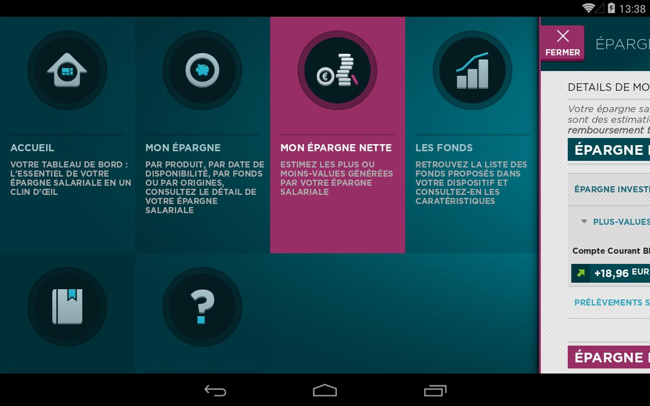 Mon Epargne Salariale- screenshot