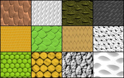 Free set of patterns for Adobe Photoshop and Adobe Photoshop Elements