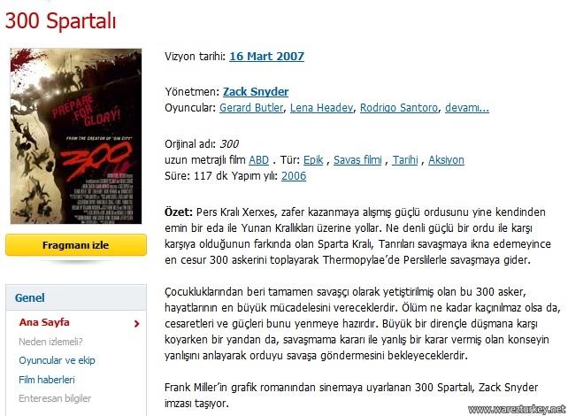 300 Spartalı - 2006 Türkçe Dublaj BDRip indir
