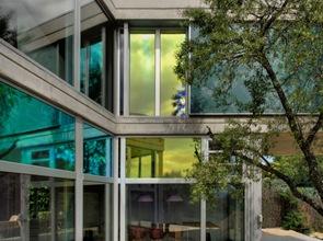fachada moderna casa de lujo madrid
