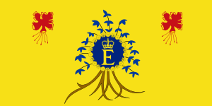 Flag of Elizabeth II, Queen of Barbados