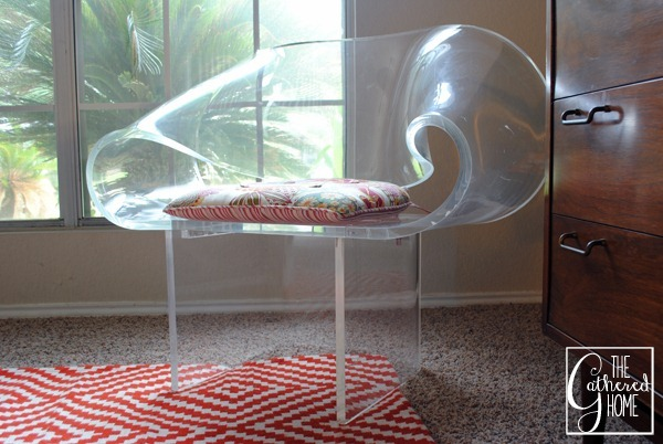 van horn lucite ribbon chair 9