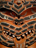 North Island - Auckland - Maori carving