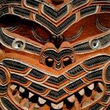 North Island - Auckland - Maori carving