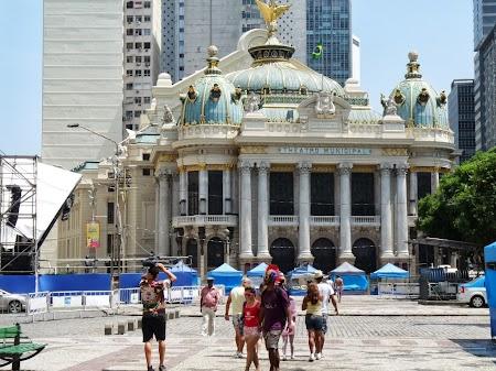 Obiective turistice Rio de Janeiro: Teatrul Municipal