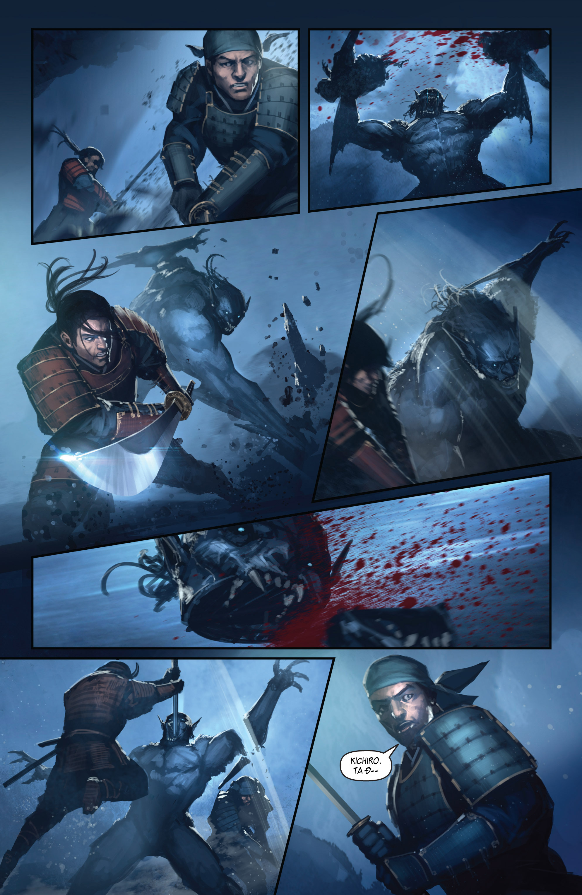 BUSHIDO - THE WAY OF THE WARRIOR chapter 4 trang 19