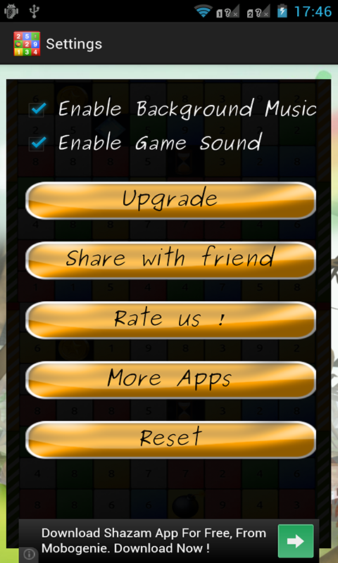 Speed Math Game- screenshot