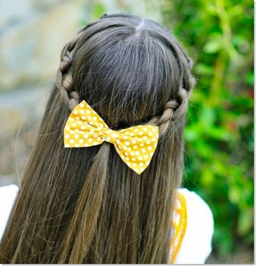 10 Unique Hairstyles for the School Week-knotted-braid