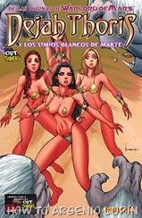 Dejah Thoris and the White Apes of Mars 001