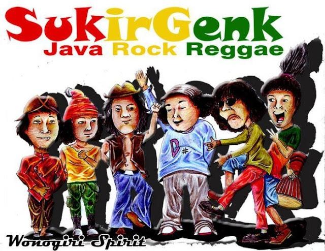 SukirGenk, Band Wonogiri, Java Rock Reggae
