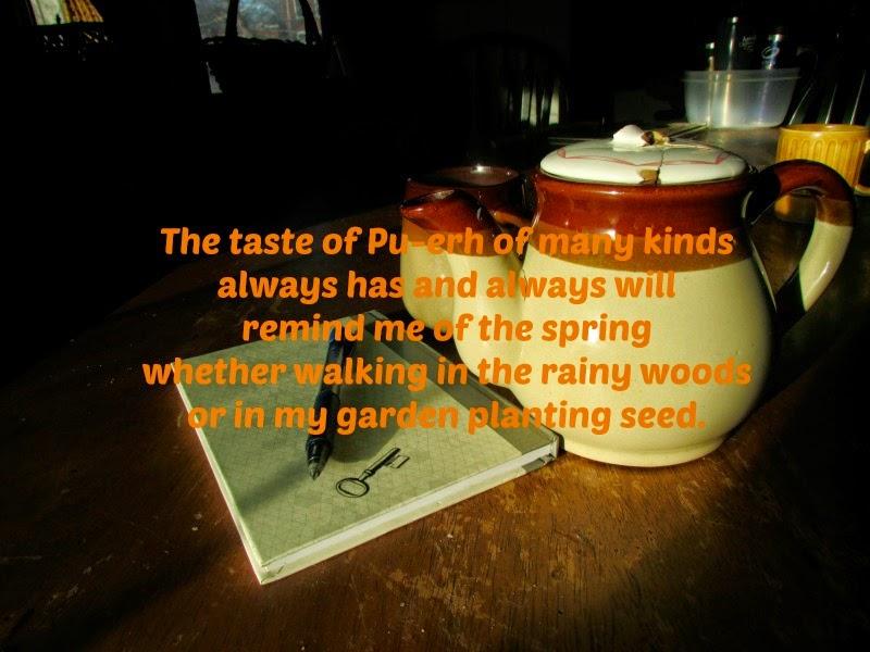 Pu-erh tea poem
