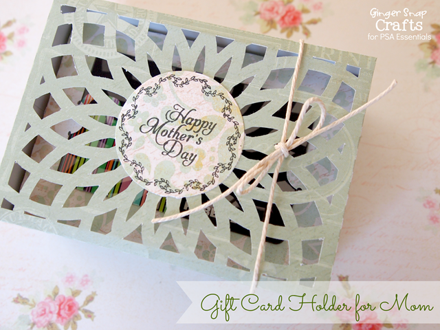 Mother's Day gift card hold from GingerSnapCrafts