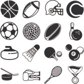 654257-series-of-icons-or-design-elements-relating-to-sports