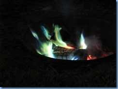 6561 Sleepy Cedars Campground Greely Ottawa - colourful campfire