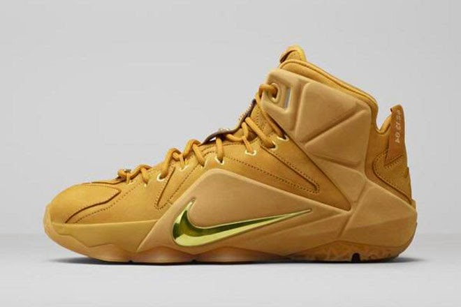698213a4d083 Nike Brings 8220Wheat8221 AZG to Life with New LeBron 12 EXT Design ...