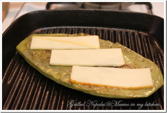 Grilled Cactus - Nopales asados