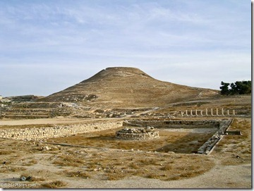 Herodium with lower pool, tb102603555