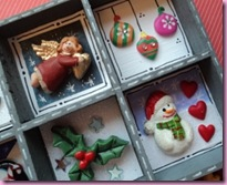 Printers Tray Christmas decoration 1