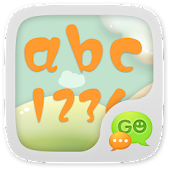 Luoblatin Font for GO SMS Pro