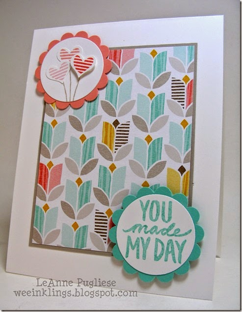 LeAnne Pugliese WeeInklings Best Day Ever Stampin Up