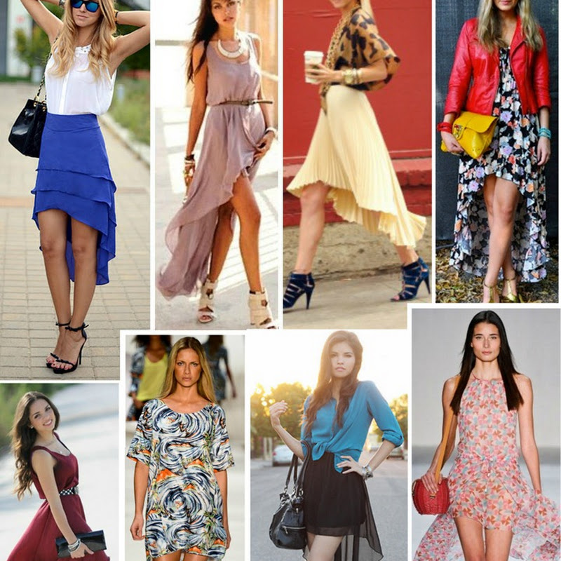 772a43c4c9 Moda das saias e vestidos Mullet  Curto na frente e comprido atrás. Saiba  como usar e onde comprar!