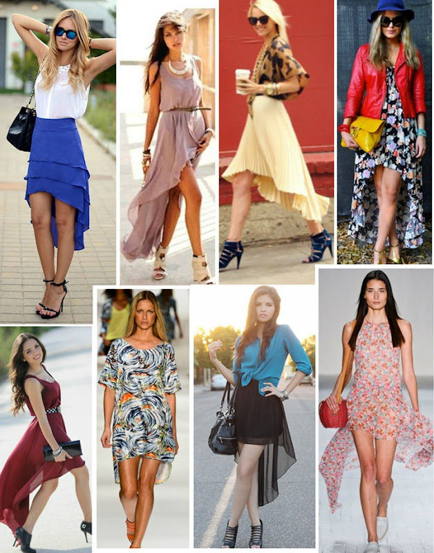 bb00b7010 Moda das saias e vestidos Mullet  Curto na frente e comprido atrás. Saiba  como usar e onde comprar!