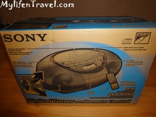 Sony CD player S350 6
