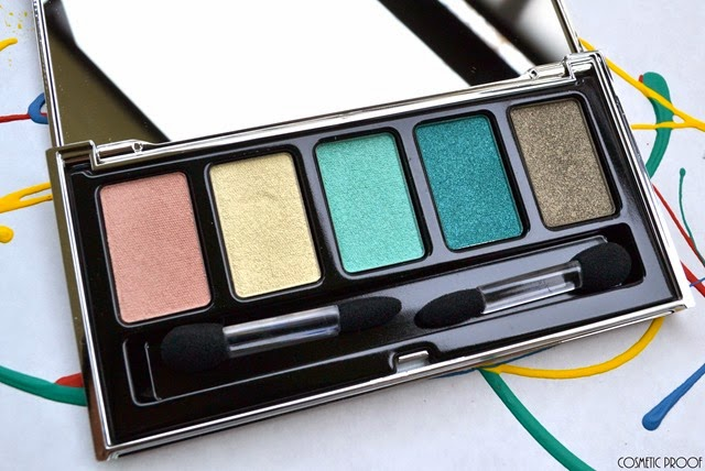Lise Watier Expression Eyeshadow Palette Review Swatches Spring 2015