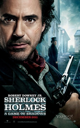 Robert Downey Jr is Sherlock Holmes  (Sherlock Homes Game of Shadows)