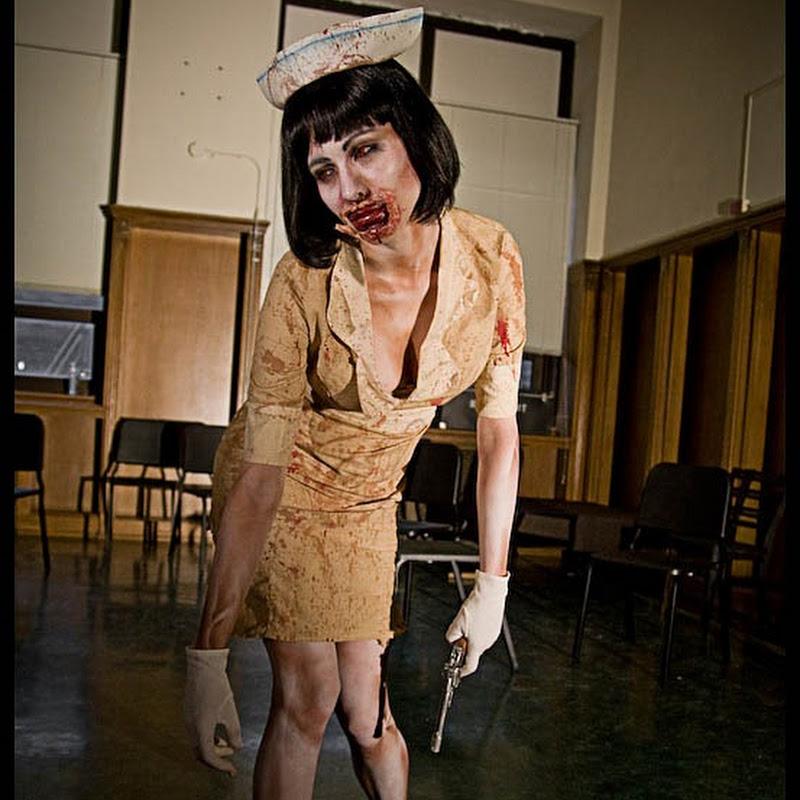 Disfraz casero de enfermera de Silent Hill