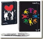Carnets Quo Vadis par Keith Haring