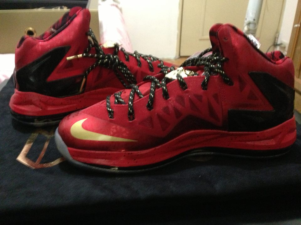 e3ca642489d ... Nike LeBron X 8211 Celebration Pack 8211 Special Packaging ...